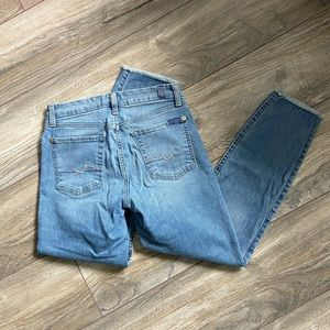 7 for all mankind Kimmy crop jean